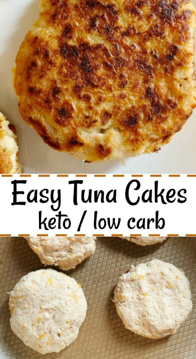 Easy Old Bay Tuna Cakes. These low carb / keto friendly tuna cakes are tasty and great for meal prep.