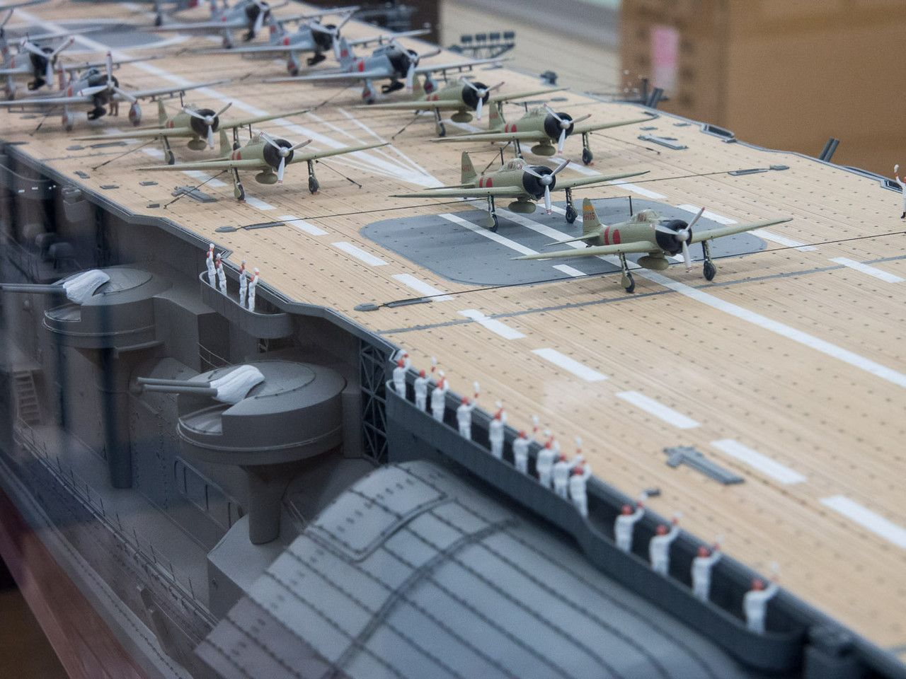Aircraft carrier models large scale - Ijn Aircraft Carrier Akagi 1 100 Scale