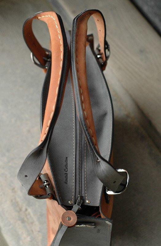 4b0797e3f1f049 Ginger Tote Gray Bag Leather handmade Shoulder Bag with Clutch Set Kuferek  Everyday Tote Bag Office Purse Travel bag Comfortable bag