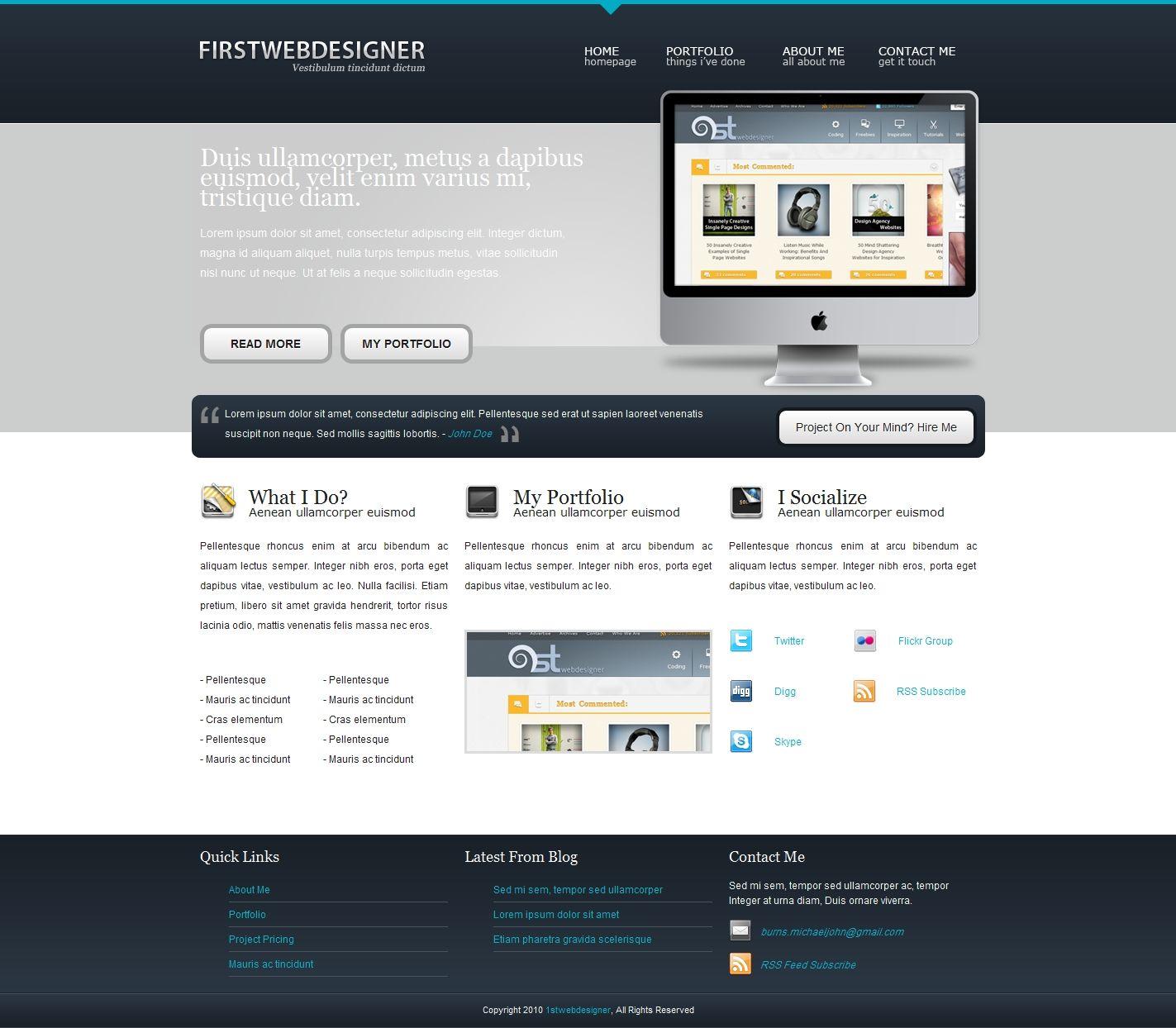 Convert 1stdelicious portfolio layout from psd to html very convert 1stdelicious portfolio layout from psd to html very detailed web design tutorialsps baditri Choice Image