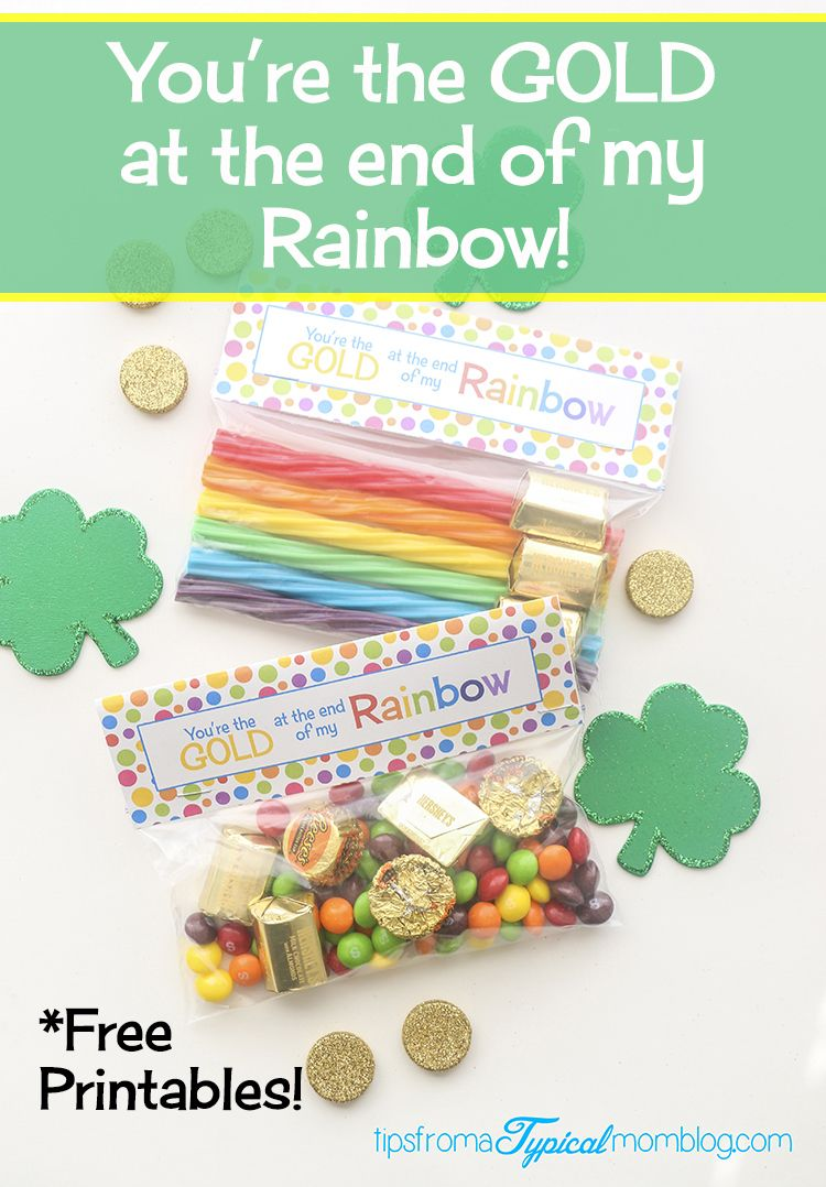 You Re The Gold At The End Of My Rainbow St Patrick S Day Free