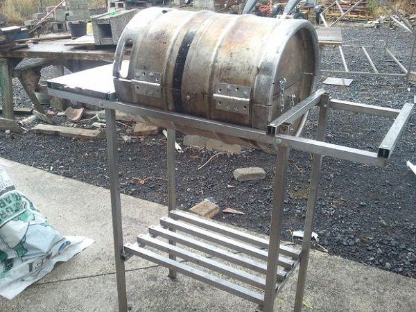 Keg Grill Smokers Grills Amp Bbqs Beer Keg Make Your