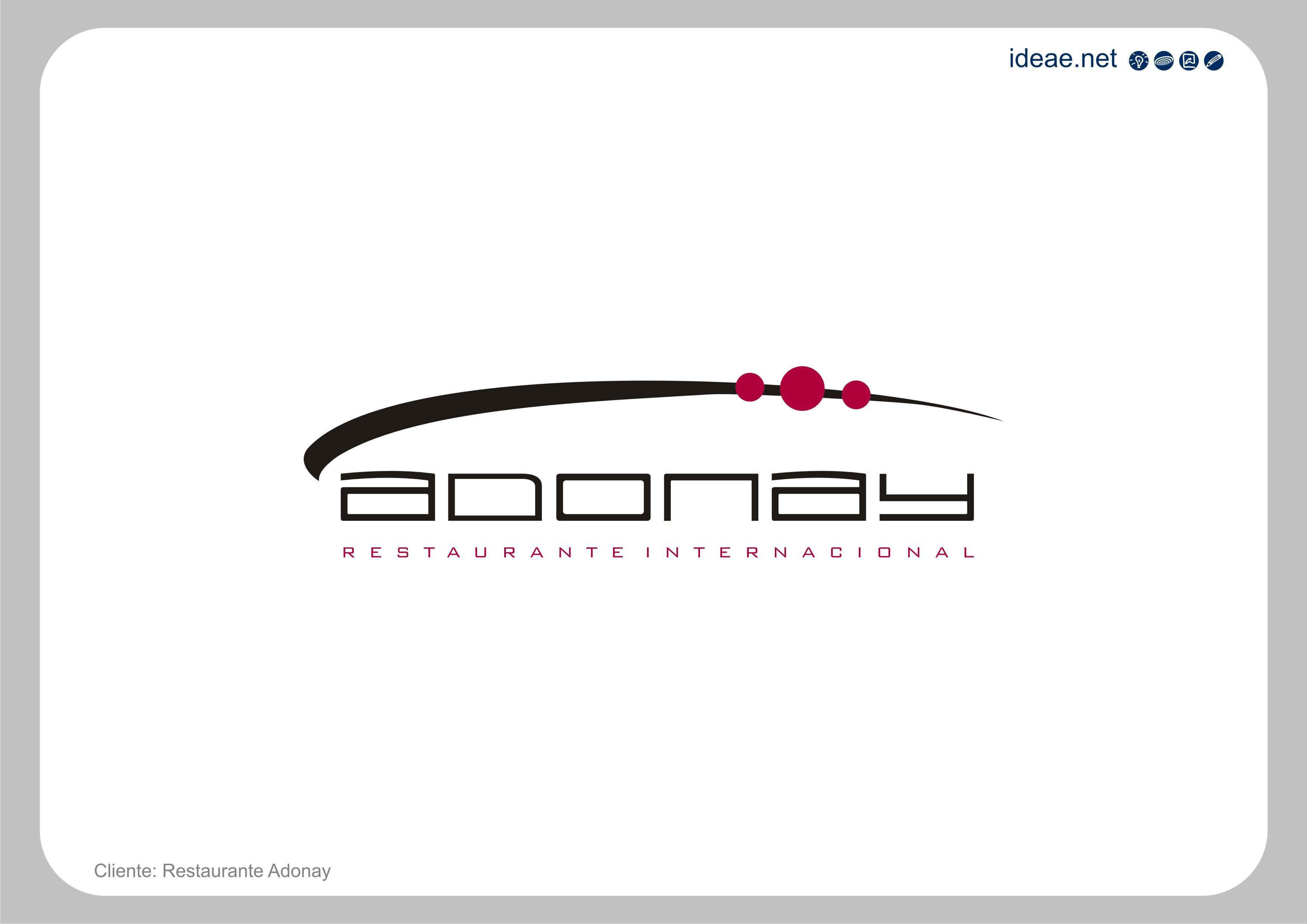 Diseño de marca realizada para restaurante de gastronomía asiática.    Cliente: Adonay Restaurante Internacional