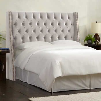 Olympia Tufted Upholstered Headboard In Various Sizes