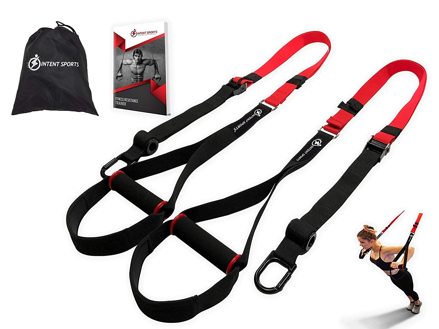 Bodyweight fitness resistance trainer kit complete body
