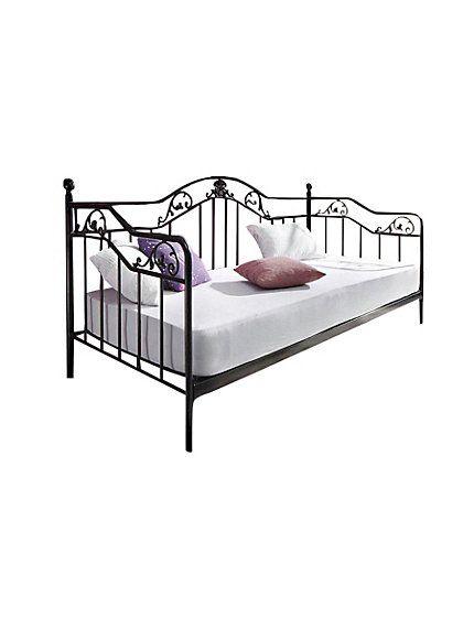 Day Bed Schwarz Im Heine Online Shop Kaufen Bett Mobel Tagesbett Bettgestell