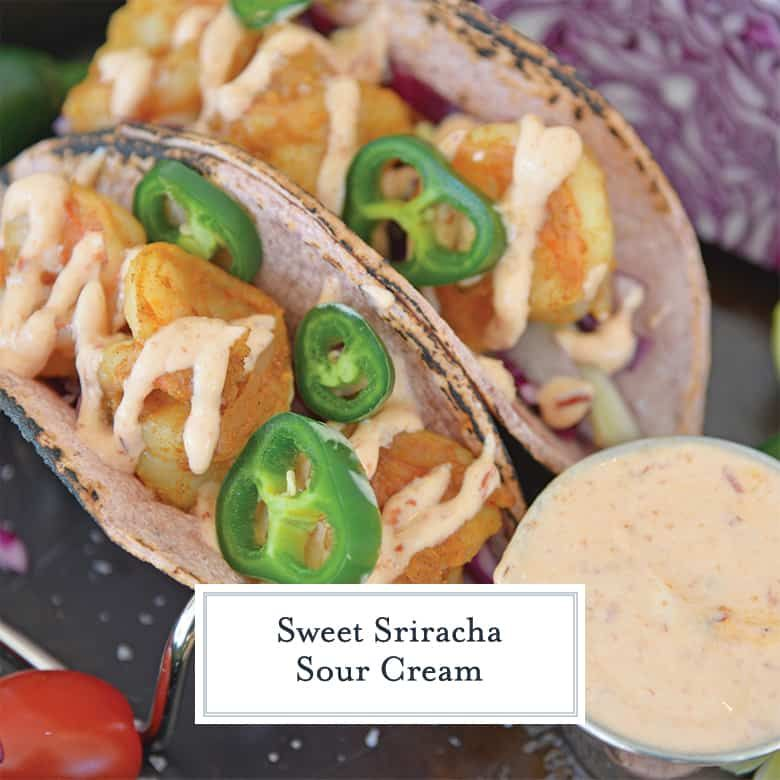 When It Comes To Homemade Sauce This Sweet Sriracha Sour Cream Is The Best Perfectly Sweet And Spicy And T In 2020 Sour Cream Recipes Sour Cream Homemade Condiments