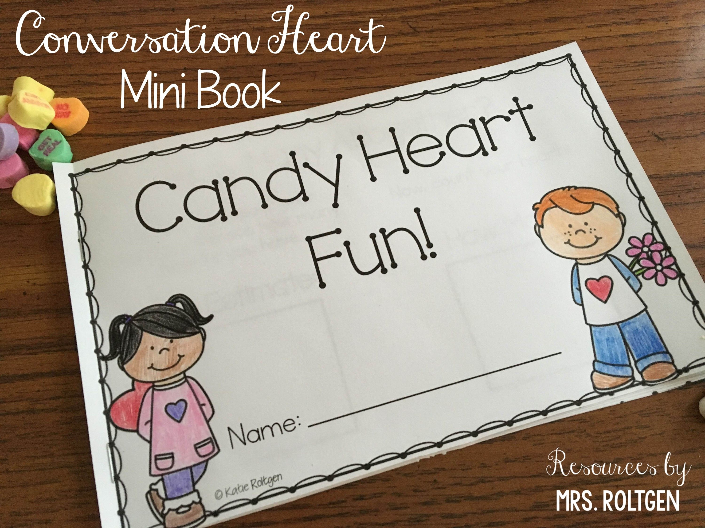 Conversation Heart Mini Book