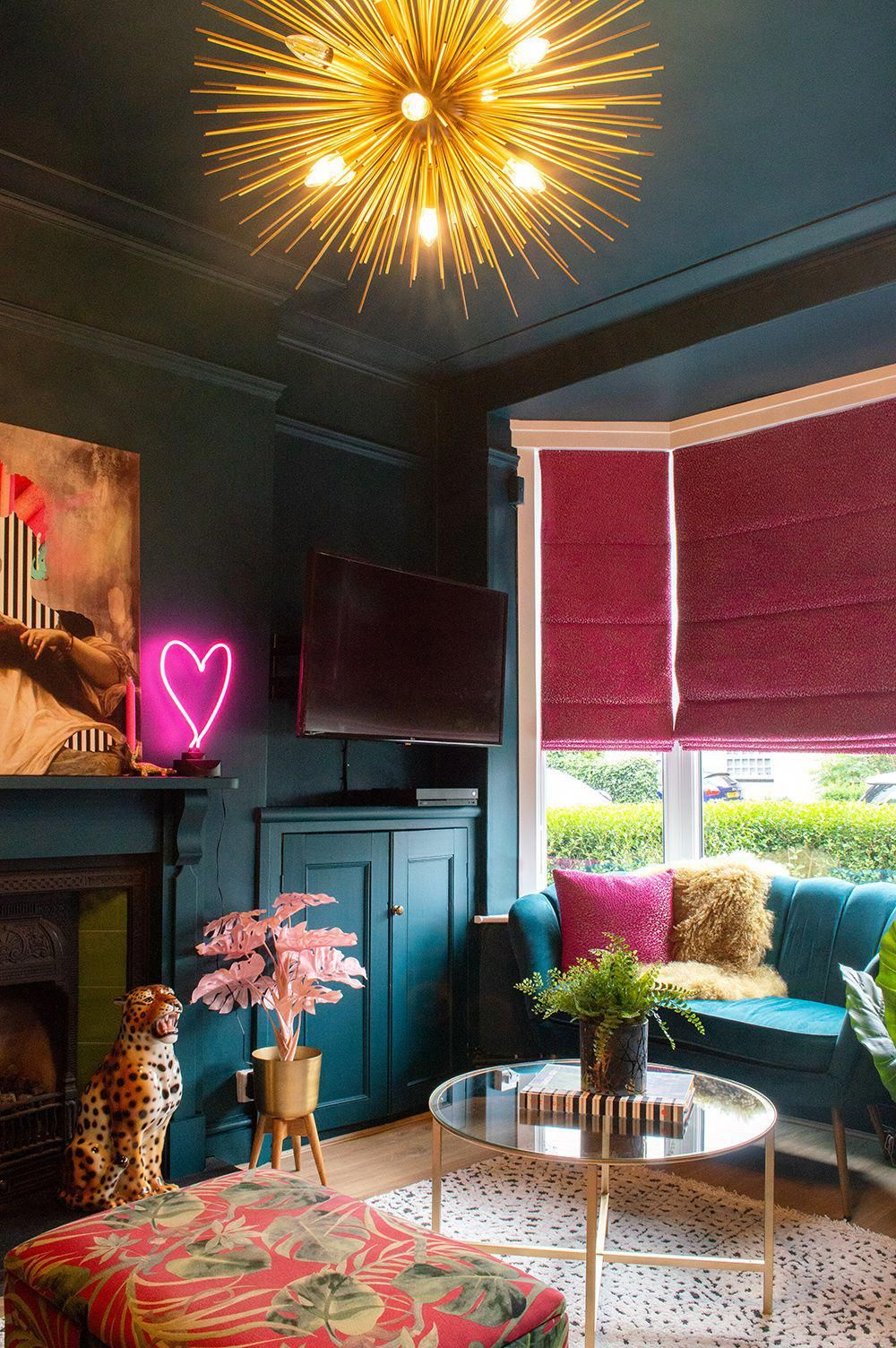 Before After A Victorian Terrace Colourful And Maximalist Living Room Audenza Boholivingroom Moody Living Room Colourful Living Room Victorian Terrace