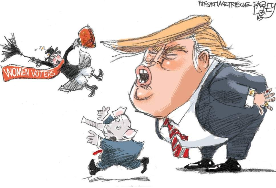 This Pat Bagley editorial cartoon appears in The Salt Lake Tribune on Wednesday, Aug. 12, 2015. Want more? Become a fan of Bagley on Facebook at www.facebook.com/notrobertkirby. You can also check out the past 10 ...