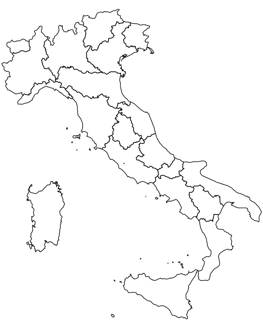 Cartina Italia Muta Regioni Cerca Con Google Insegnare Italiano