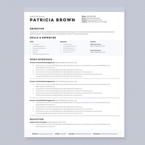 How to choose the right resume templates with examples