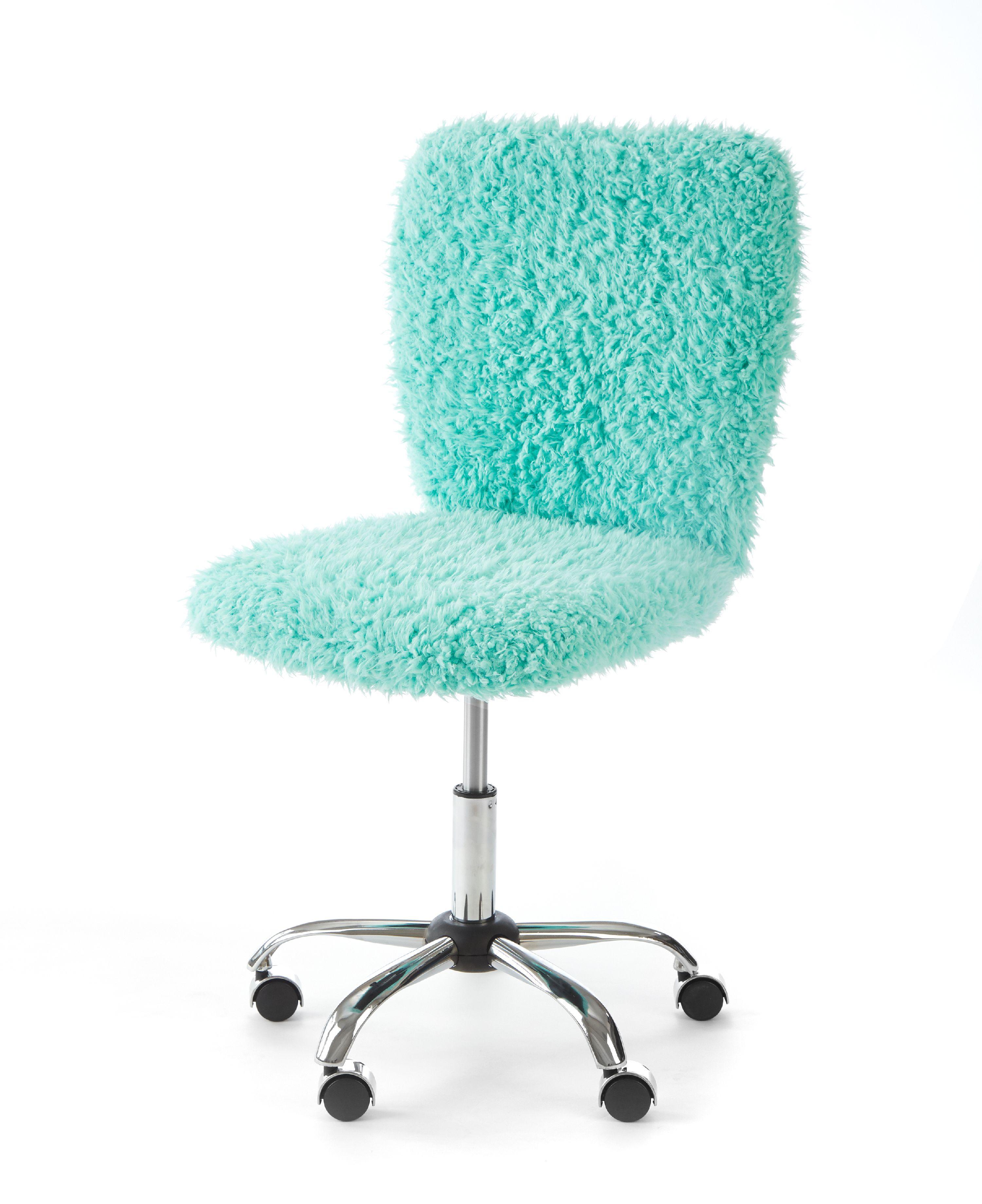 Urban Shop Faux Fur Armless Swivel Task Office Chair Multiple Colors Walmart Com In 2020 Office Chair Urban Shop Task Chair