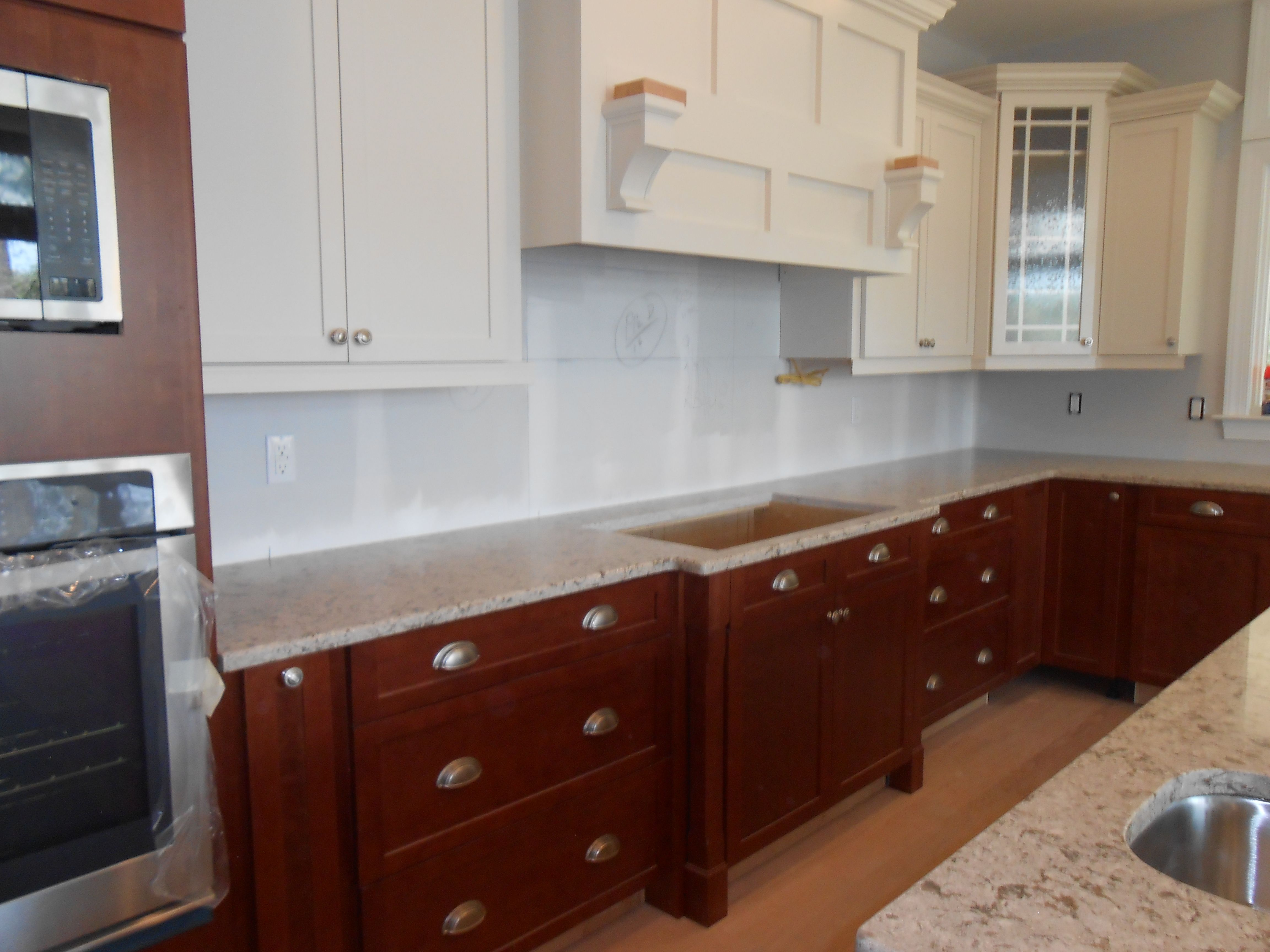 My kitchen is finally getting there (in progress). Cambria