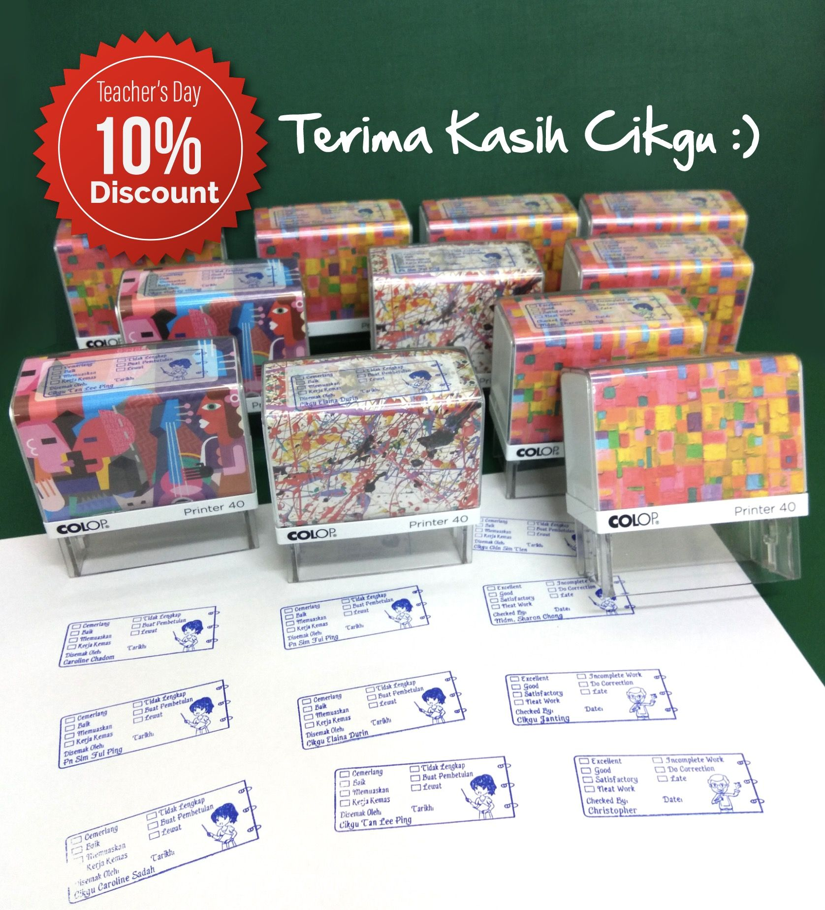 Promosi Teacher S Days 10 Off Utk Cop Ulasan Guru