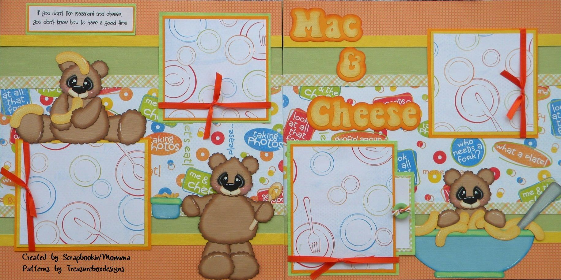 How to scrapbook on a mac - Mac N Cheese Collection