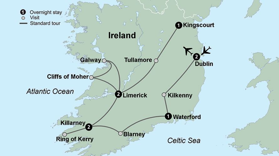 Travel Ireland With Collette Ireland Tour Packages Ireland