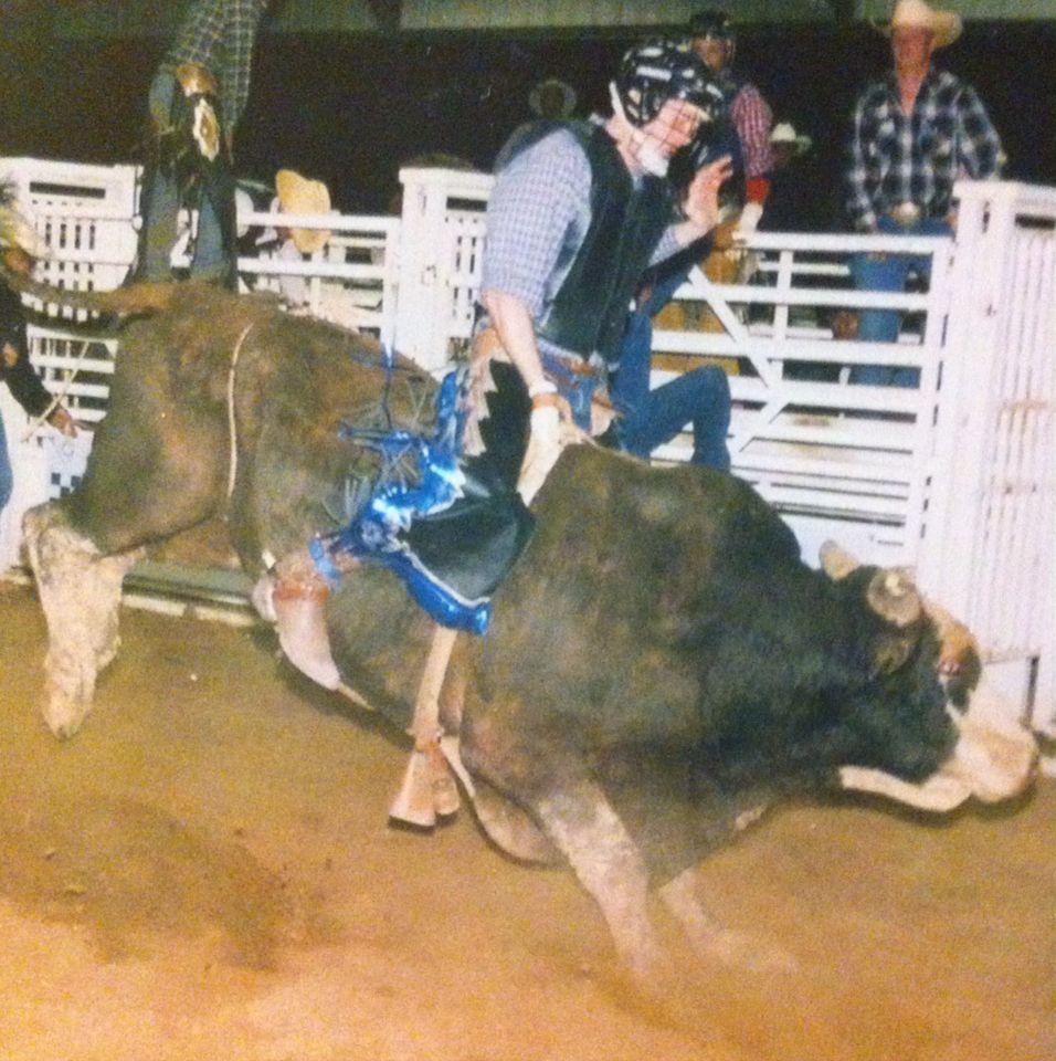 Flashback.. My Bull-riding Days!