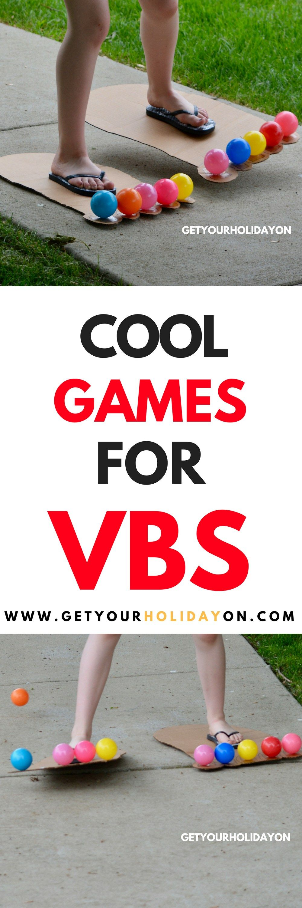 Cool Games For Vbs Fun For The Kidlets Bible School