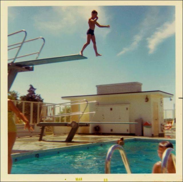 DIVING BOARD Pool patio design Pinterest Diving board, Modern