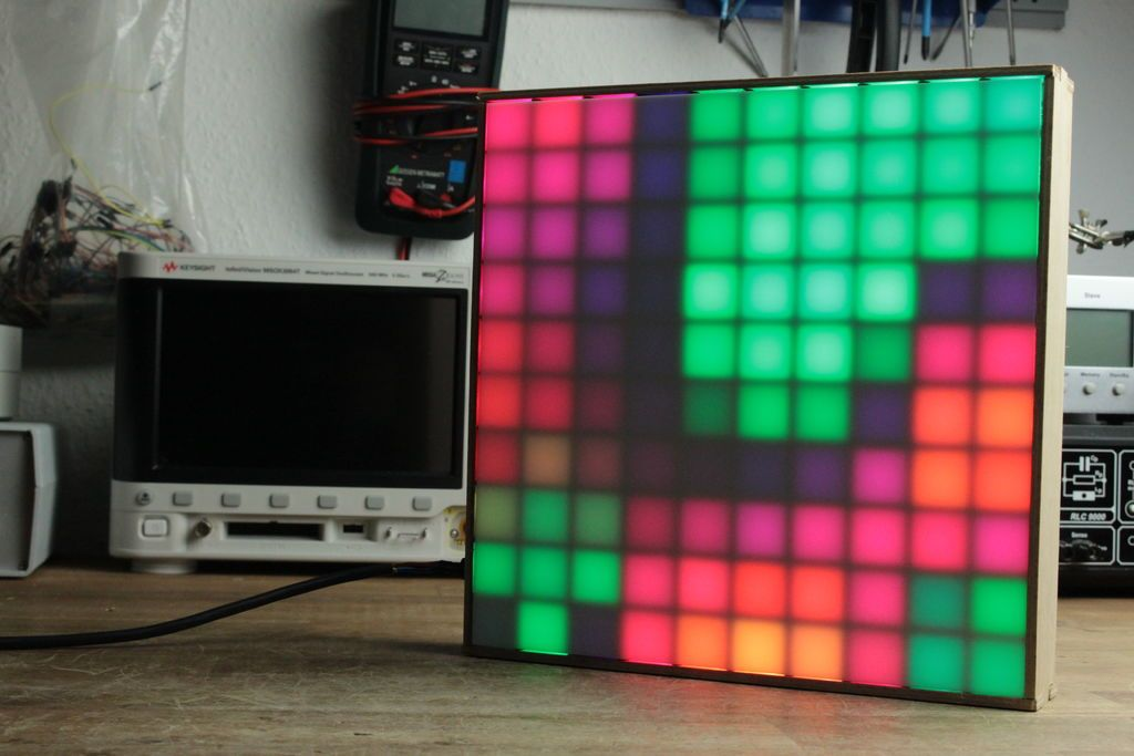 Make Your Own 10x10 Led Matrix Led Matrix Arduino Projects Diy Arduino Led