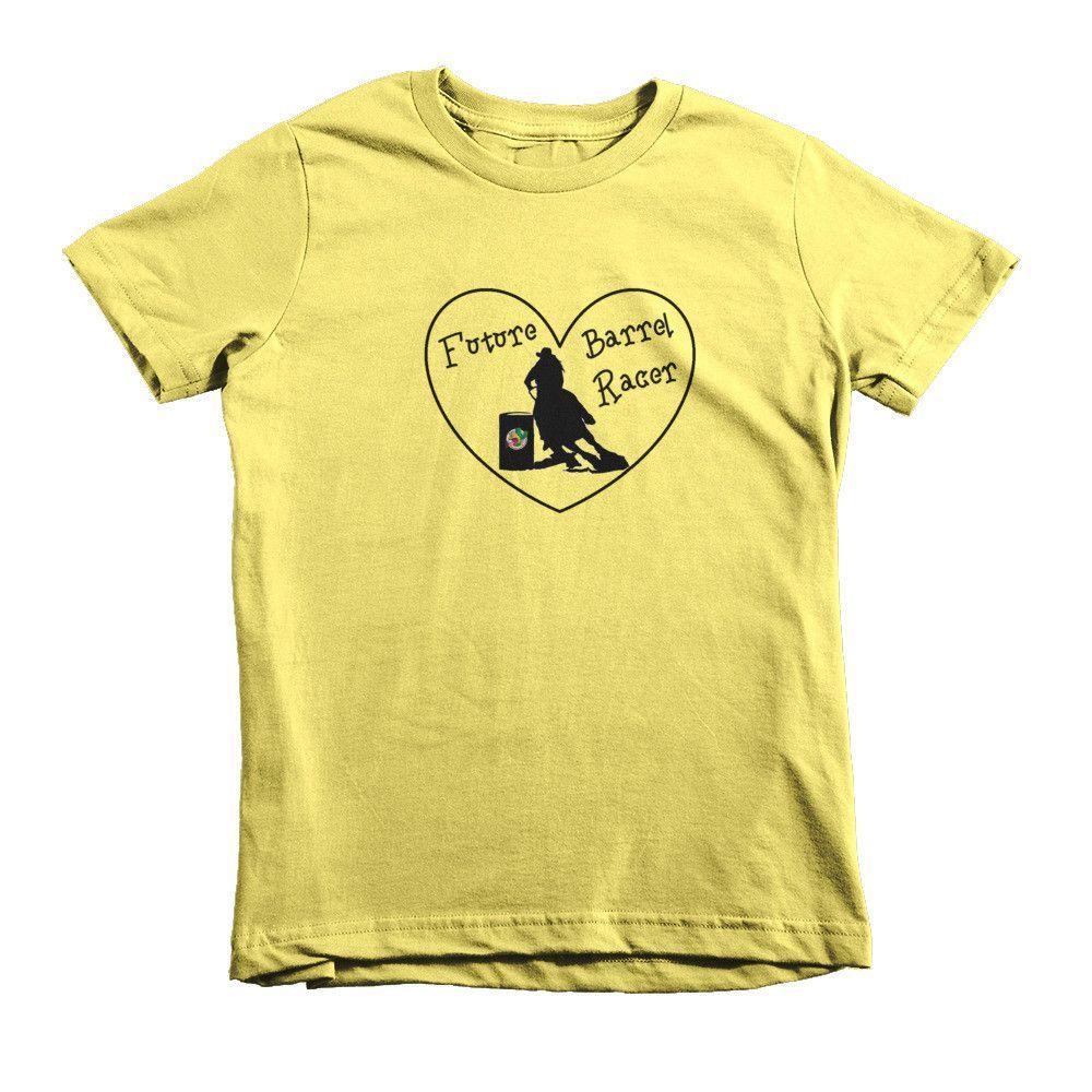 """""""Future Barrel Racer"""" short sleeve kids t-shirt"""