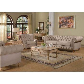 acme 51305 shantoria victorian beige linen fabric accent rolled arms rh pinterest com
