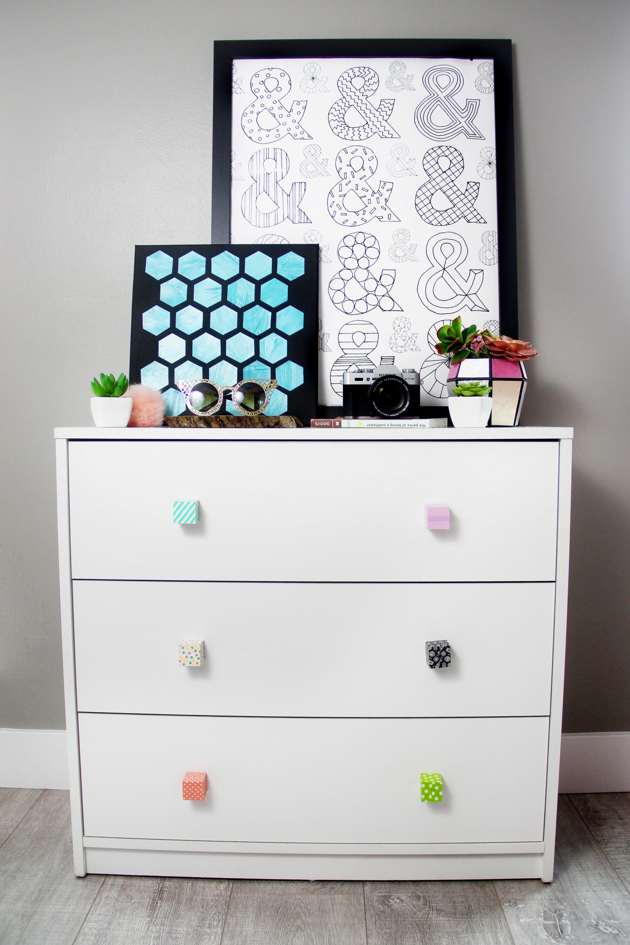 Diy Alphabet Block Custom Dresser Drawer Handle Pulls Easy