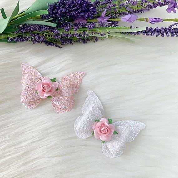 Arco de mariposa, diadema del bebé mariposa, diadema del niño, clip del pelo de la mariposa, diadema del arco de la mariposa, mariposa de la mariposa, arco de la primavera