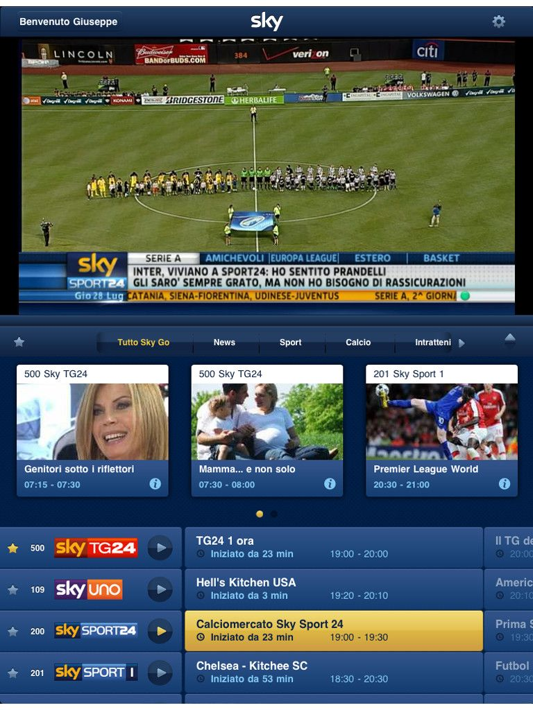 How To Get Sky Go From Ipad To Tv