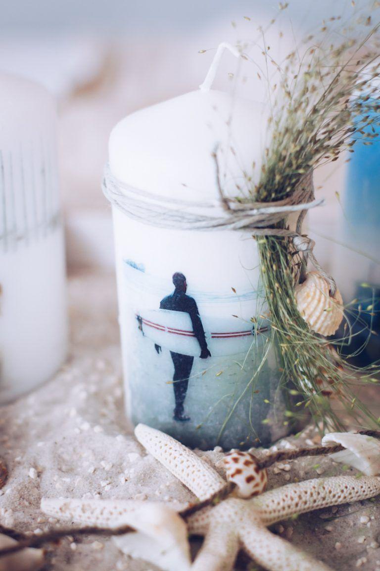 fotokerzen selber machen - geschenk zum geburtstag oder weihnachten