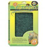 Zoo Med Eco Cage Carpet 10 Gallons 20x10in 2 Pack Zoo Med Carpet Cage