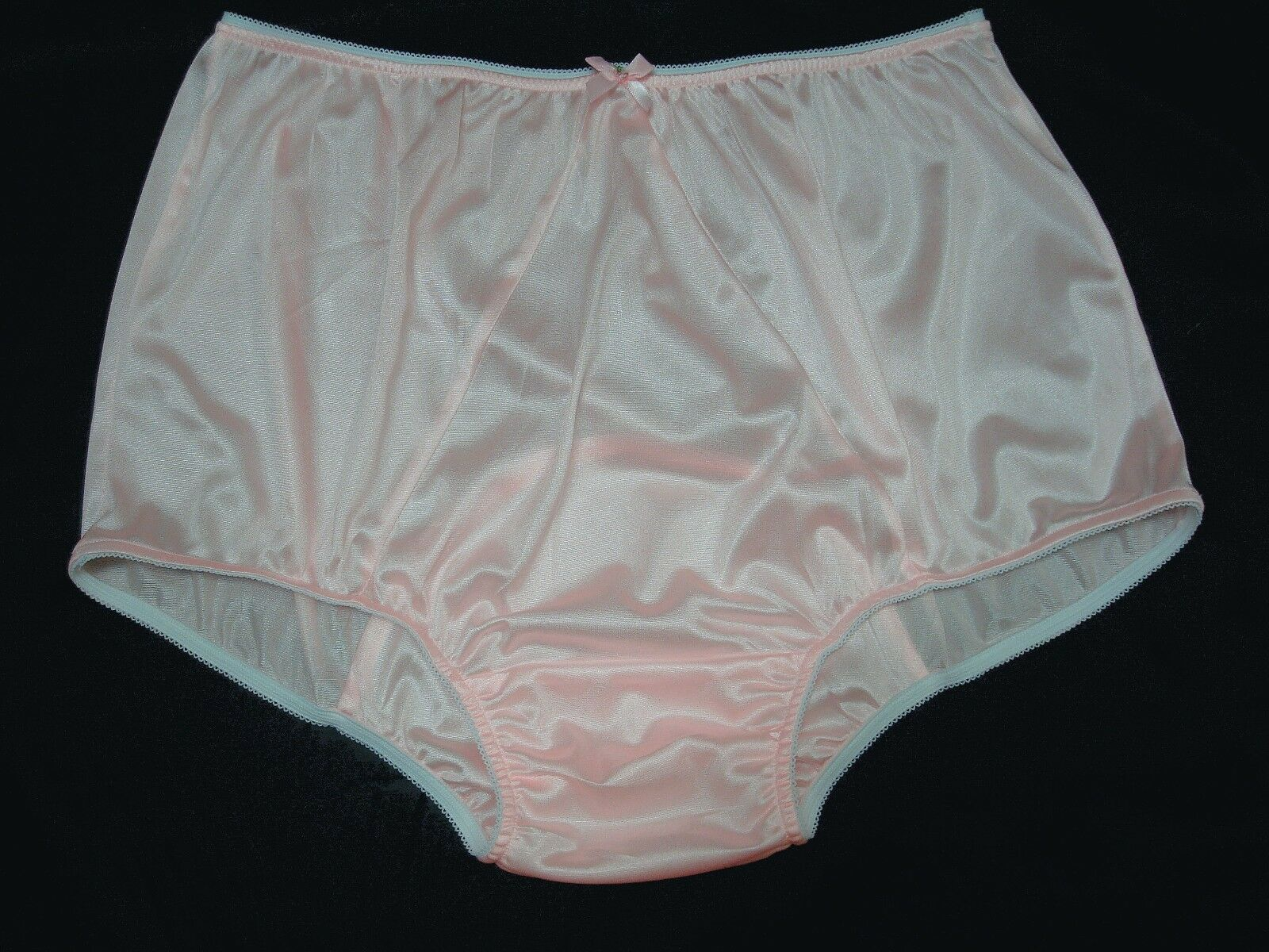 3600002fe737 ADULT SISSY PINK Tricot Panties w/ Large Mushroom Double Gusset Made High  Waist - $28.00 | PicClick