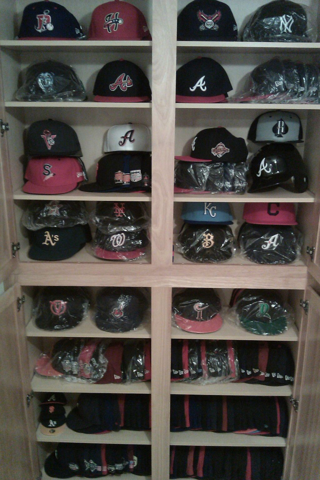 A Cap Storage Idea From New Era Fan Gary L.