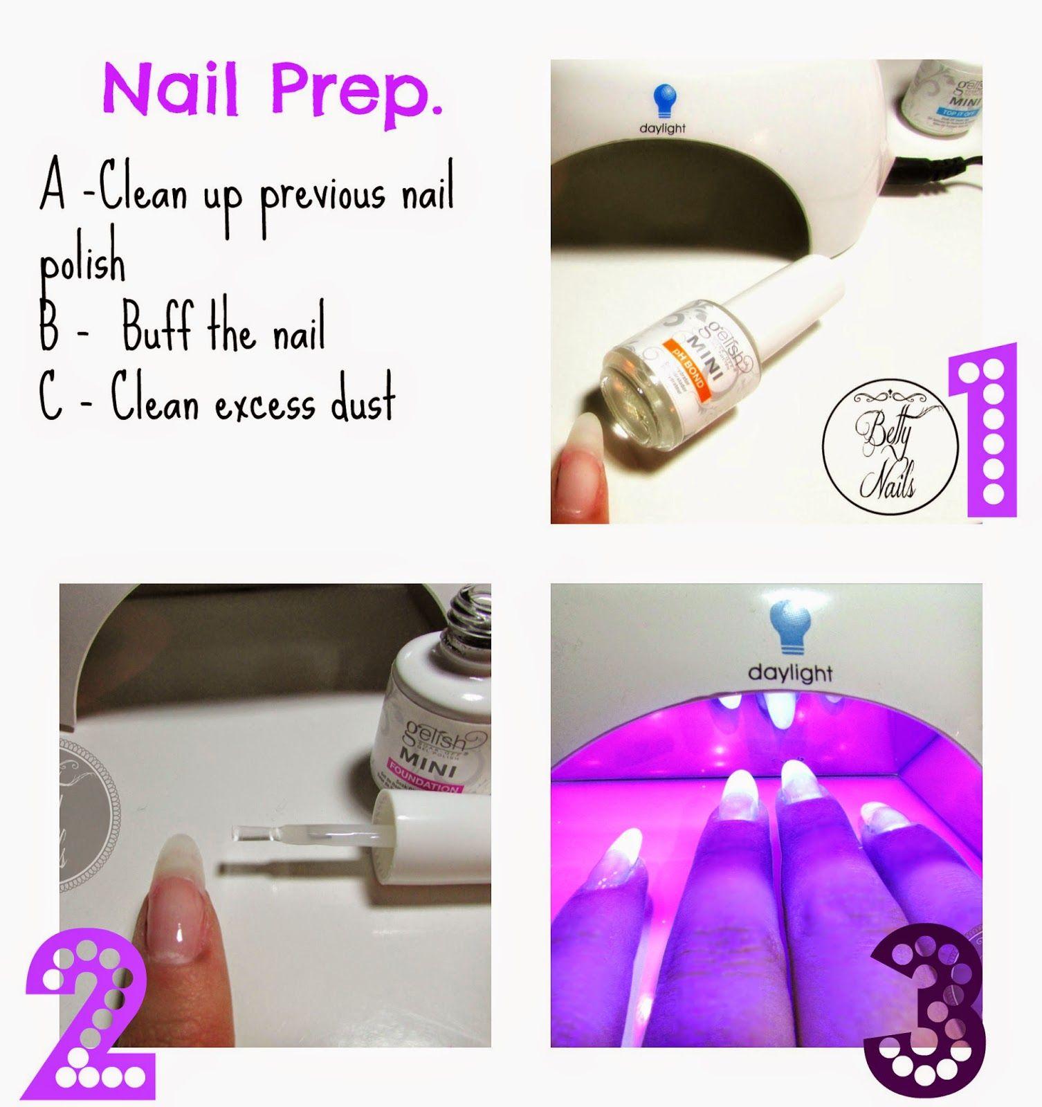 Betty Nails: GEL POLISH | Gelish Starters Kit + Mini Led Lamp + You ...