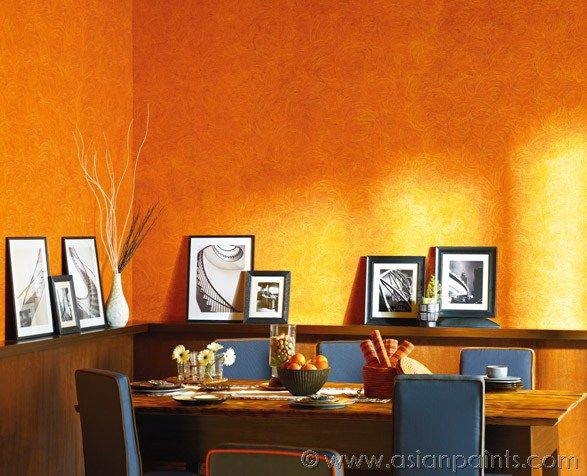 Create An Illusion In This Space Hang Place Photo Frames Around This Corner To Create Drama And Harmony In The Dinning Space Dining Space Wall Painting D