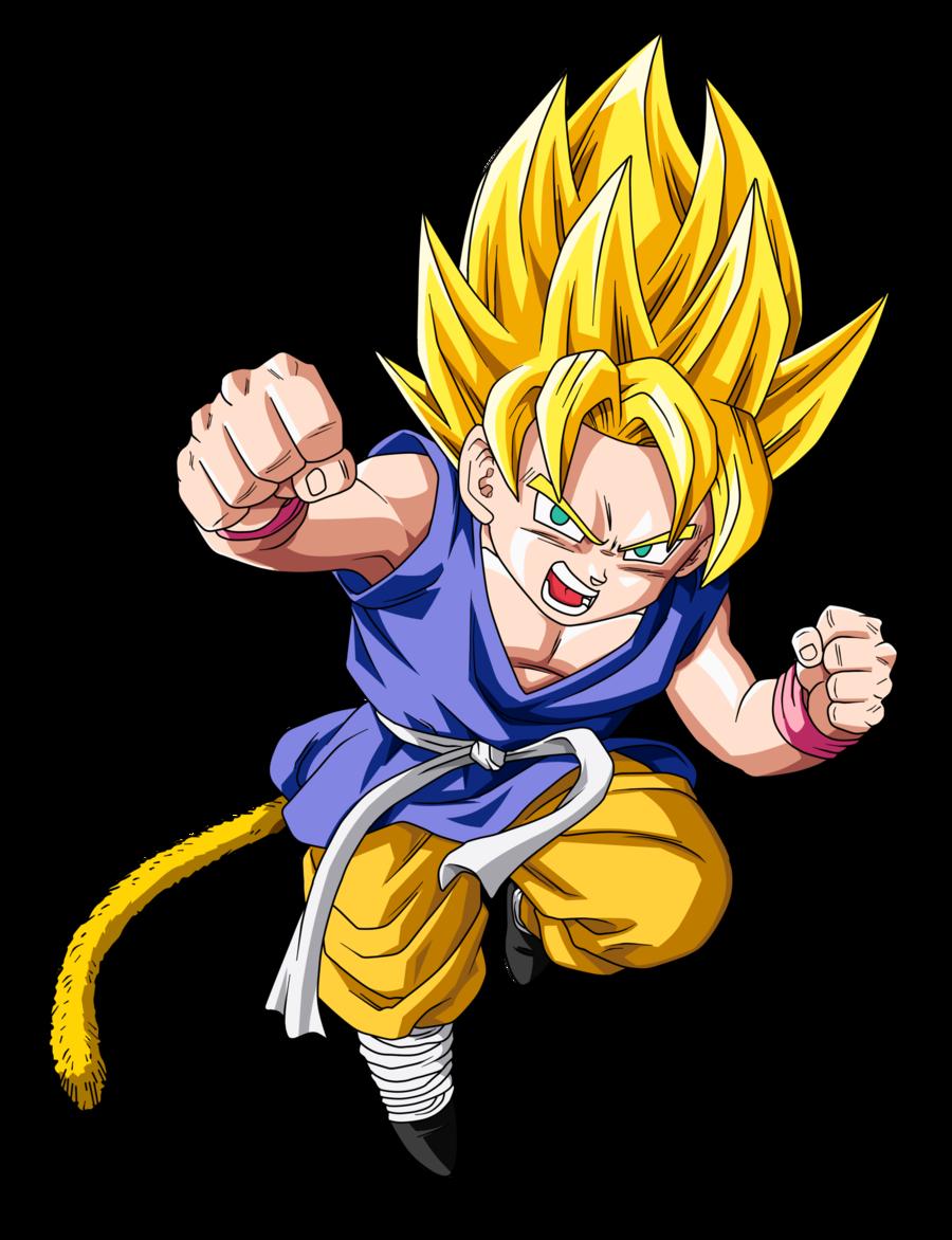 Ssj Kid Goku Update By Boscha196 On Deviantart Kid Goku Dragon Ball Dragon Ball Gt