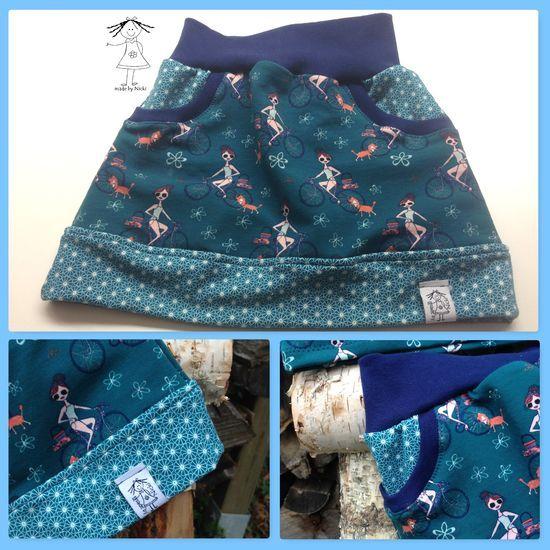 Photo of Kostenloses Schnittmuster Little Sweat Skirt von Lin-Kim