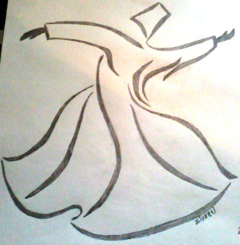 Karakalem Cizimleri Kelebek En Yeniler En Iyiler Islamic Art Calligraphy Islamic Calligraphy Painting Drawings