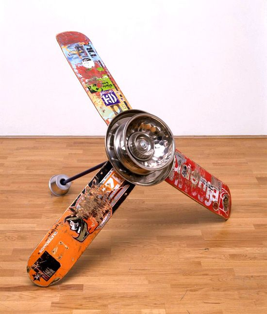 Skateboard Ceiling Fan Kids Furniture