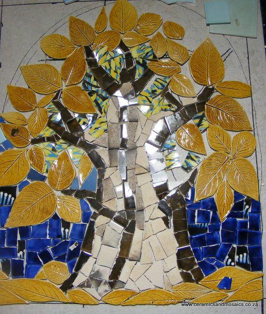 Tree Mosaic, Step by Step