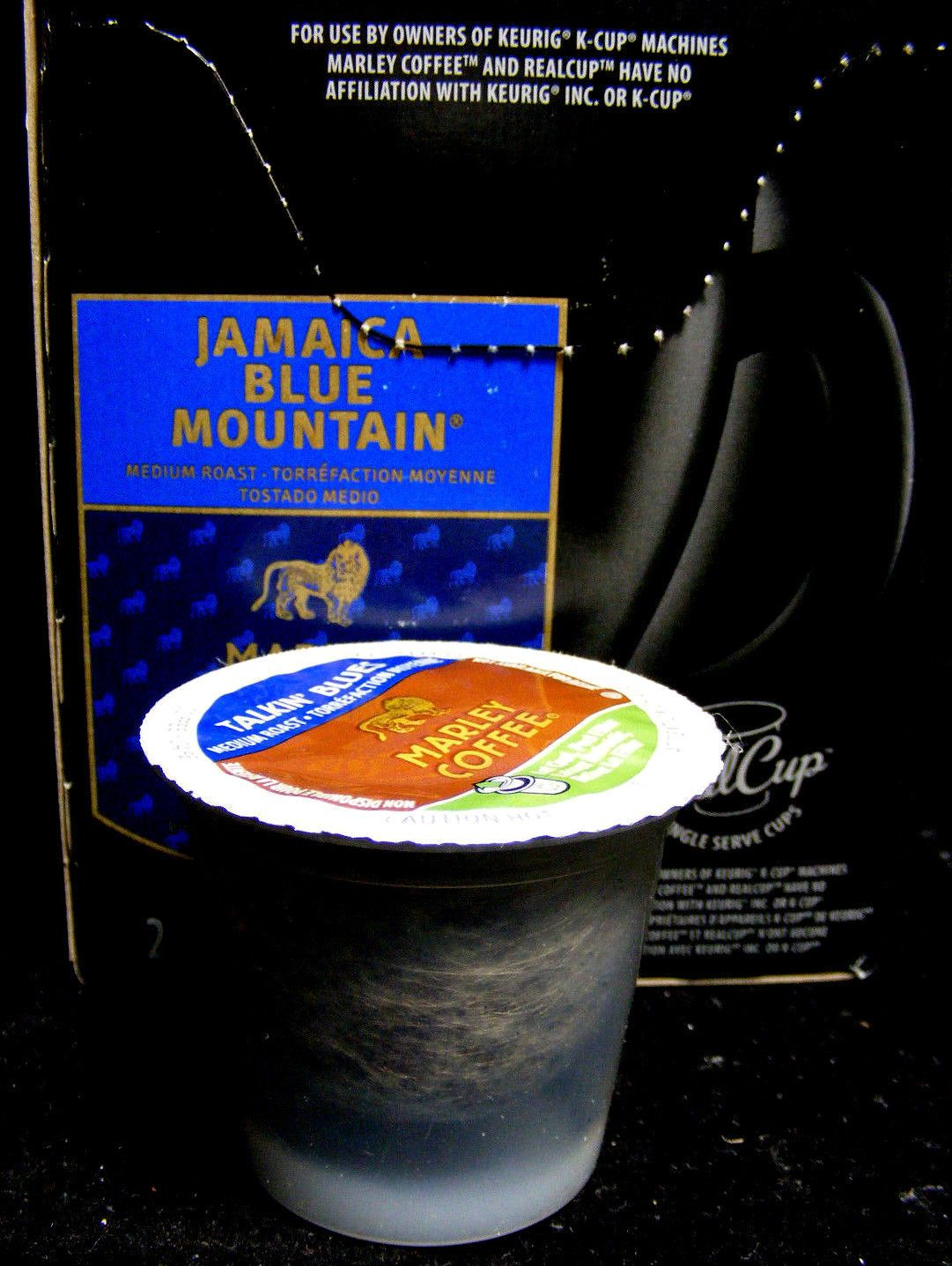 Marley Coffee Jamaica Blue Mountain Talkin Blues Kcup 24 Cups Single
