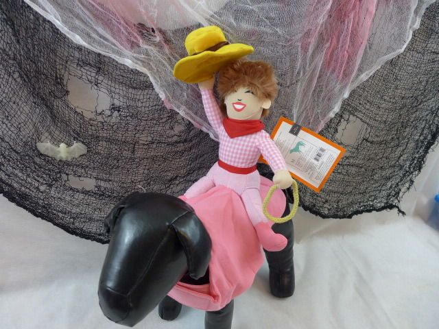 Halloween Dog Costume Cowgirl Rider Pink New With Tags #Target New