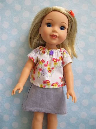 Image result for Wishers Wellie Doll Clothes Patterns Free ...