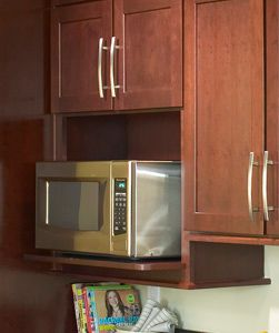 Microwave Shelf Upper Kitchen Cabinets