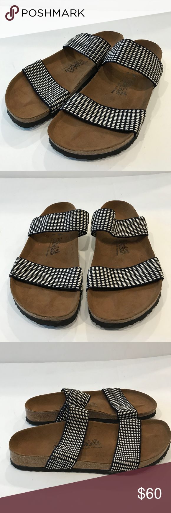 BIRKI'S Curacao Woven Stretch Sandals 10 Birkenstock BIRKI'S