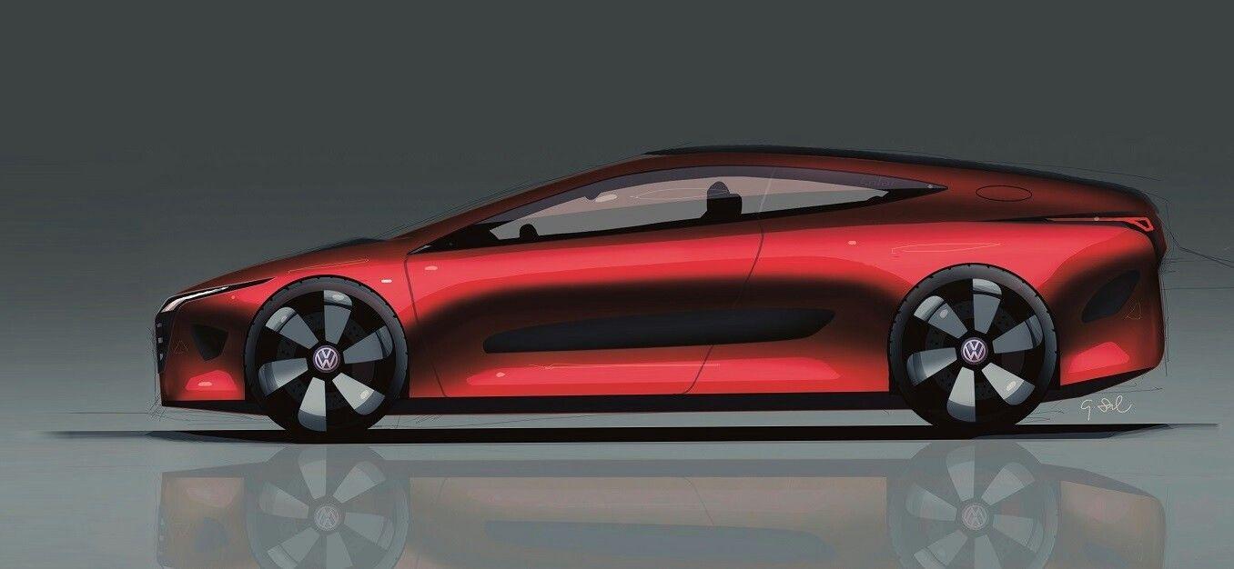 Gabriel Salewski VW EHybrid Coupe