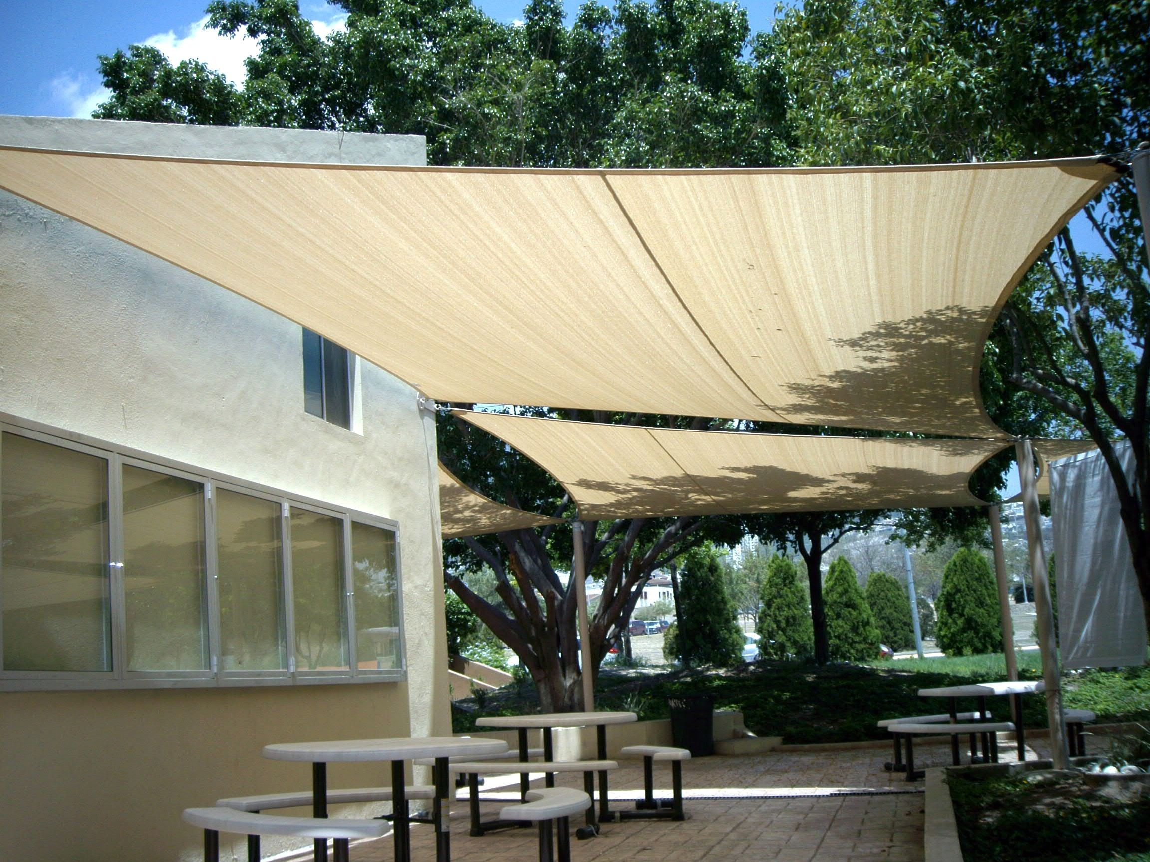 how to make patio shade sails - decoraciones party inside shade