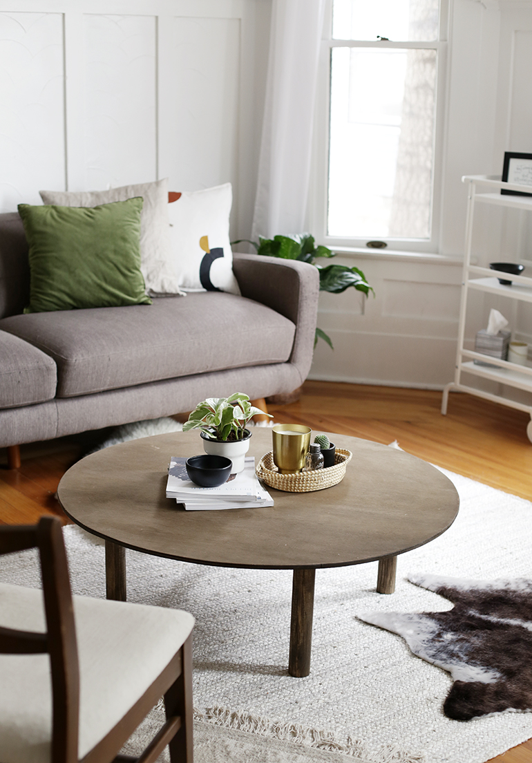 Diy Round Coffee Table In 2020 Round Coffee Table Living Room Diy Coffee Table Round Coffee Table #round #coffee #table #living #room