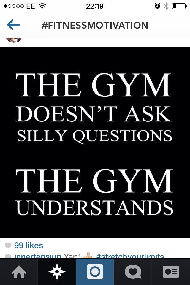 gym is deffoes my safe place #alwaysthere #getawayfromitall